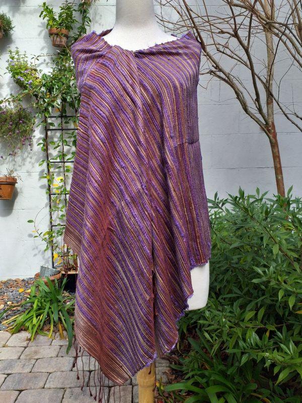 NSS605A SEAsTra Fair Trade Silk Scarf