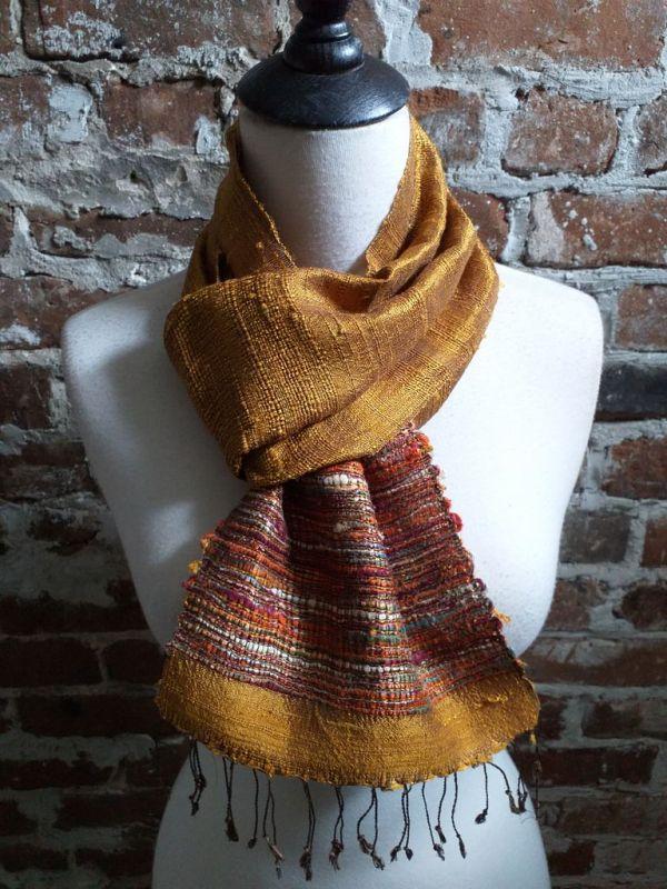 NTC030A SEAsTra Handwoven Silk Scarves