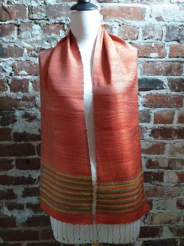 NTC034E SEAsTra Handwoven Silk Scarves