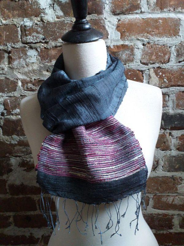 NTC091A SEAsTra Handwoven Silk Scarves