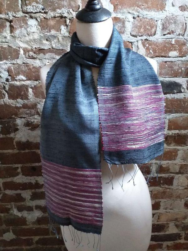 NTC091D SEAsTra Handwoven Silk Scarves