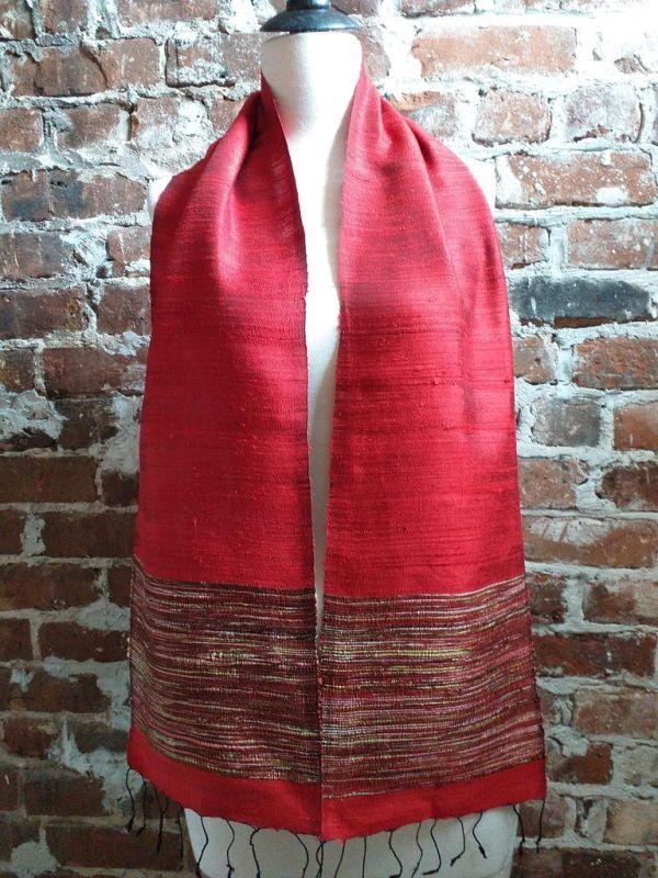 NTC103E SEAsTra Handwoven Silk Scarves