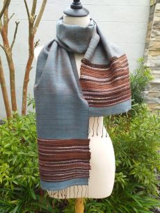 NTD003E SEAsTra Handwoven Silk Scarves