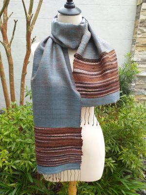 NTD003E SEAsTra Handwoven Silk Scarves