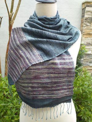 NTD091A SEAsTra Handwoven Silk Scarves