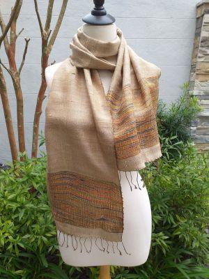 NTD180E SEAsTra Handwoven Silk Scarves