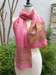 NTD720E SEAsTra Handwoven Silk Scarves