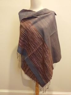 NTS003A SEAsTra Handwoven Silk Scarf