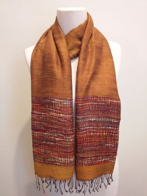 NTS030B SEAsTra Handwoven Silk Scarf