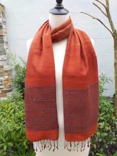 NTS095D SEAsTra Handwoven Silk Scarves
