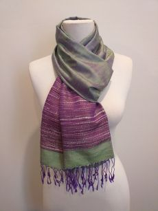 NTS702D SEAsTra Handwoven Silk Scarf