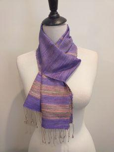 NWC162D SEAsTra 100 Raw Silk Scarf