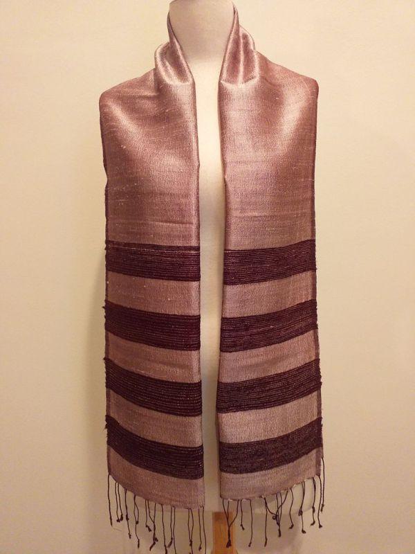 NWD042A SEAsTra 100 Raw Silk Scarf