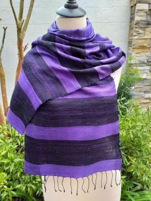 NWS015A SEAsTra 100 Raw Silk Scarves