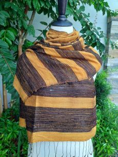 NWS955e Thai Silk Hand Made Stylish Shawl