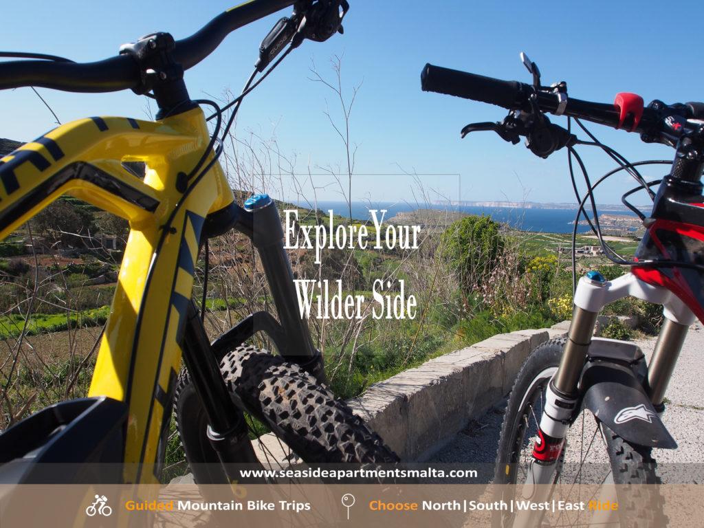 Mountain bike Trip in Malta