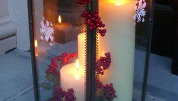 creating a christmas lantern easy crafts and homemade decorating gift ideas hgtv