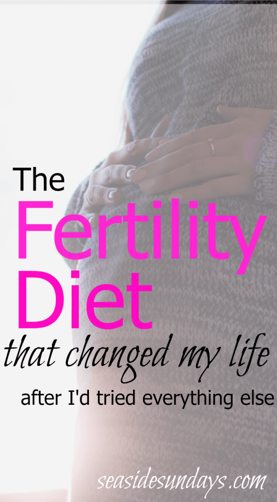 The IVf and fertility diet that is proven to work via www.seasidesundays.com