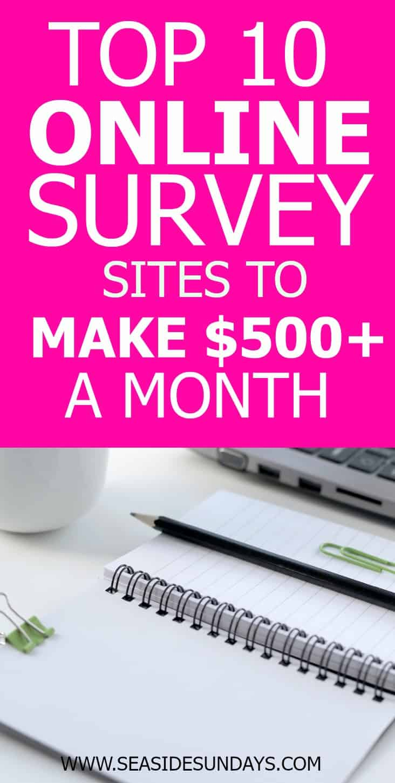 Online surveys for money | online surveys Canada |how to make money online | stay at home moms | survey sites that pay cash