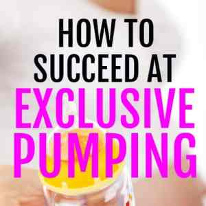 Exclusive Pumping: Breastfeeding without Nursing