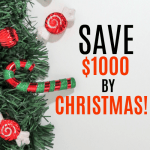 How to save $1000 for a debt-free Christmas