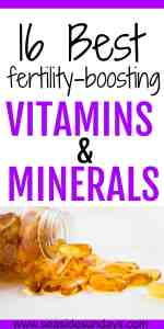Trying to get pregnant? Check out this list of supplements to boost your fertility and help you conceive quickly. If you are trying for a baby or dealing with infertility, this list of vitamins and minerals you can take is really useful. Should you take maca or wheat grass for fertility? Does royal jelly help with egg quality? What supplements should you take for PCOS and male factor infertility. Includes studies and sources for each supplement.
