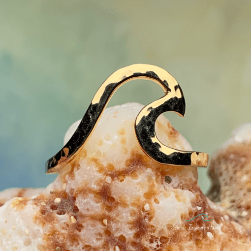 gold wave rings