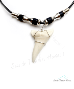 mako shark teeth necklaces