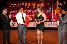Offer the award to transgender