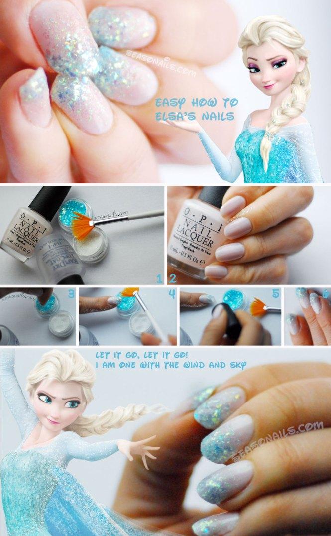 15 Disney Frozen Olaf Nail Art Designs Ideas Trends Stickers 2016 Nails Fabulous