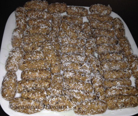 Dates Roll Recipe - Date And Nut Roll