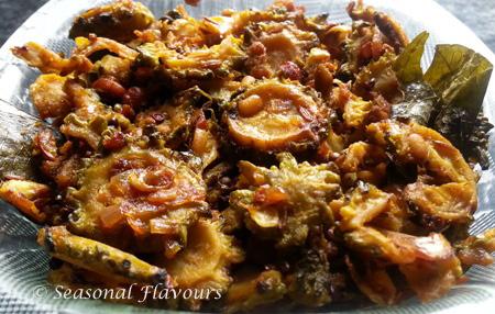 Karela Fry Andhra Recipe