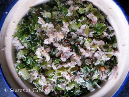 Andhra Mullangi Aakula Vepudu Recipe