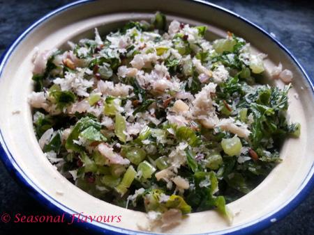 Radish Greens Stir Fry Recipe