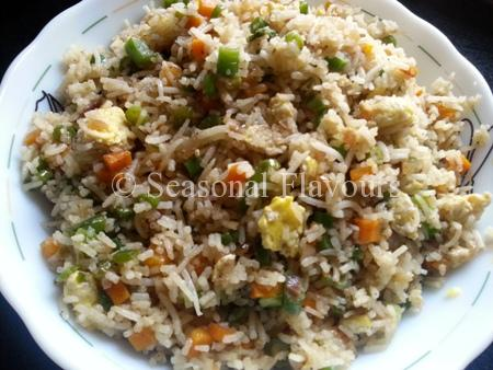 Egg Fried Rice – Easy Stir Fried Rice Recipe