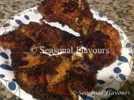 Fish Fry With Hamour Recipe