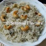 Jeera Rice – Punjabi Cumin Rice   Cumin Seeds Flavoured Jeera Pulao