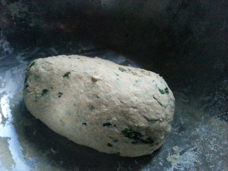 Dough for Mint Paratha Recipe