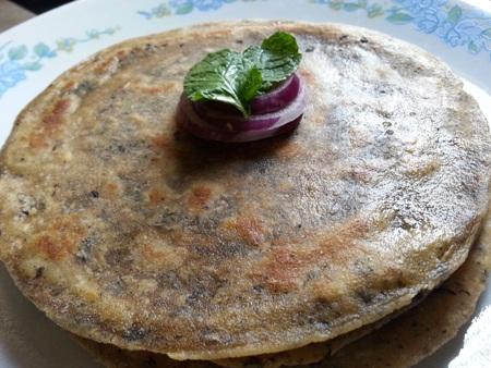 Pudina Paratha Punjabi Recipe