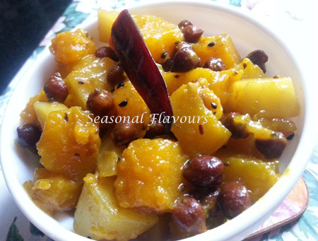 Kumror Chokka Recipe