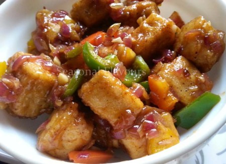 Ginger-Garlic Tofu Recipe