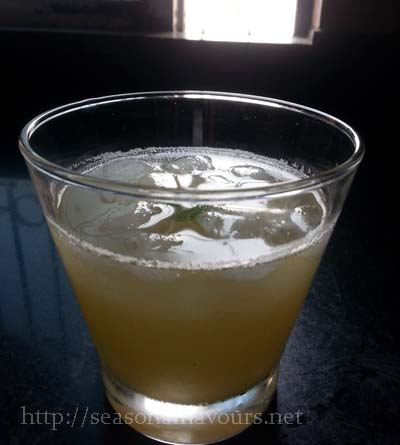Raw Cucumber Juice Recipe
