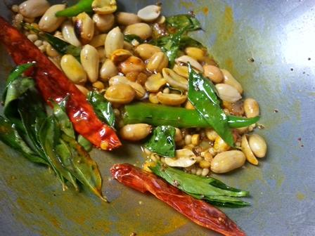 Tempering for Pulihora Recipe