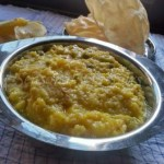 Khichuri – Bengali Lentils And Rice | Niramish Bhaja Moong Dal Khichdi