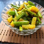 Aloo Peyajkoli Bhaja Bengali Recipe | Potato and Onion Stalks Stir-Fry