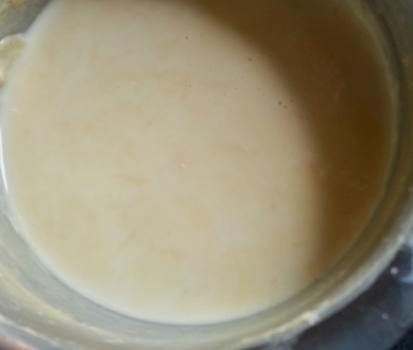 sweetened and thickened milk for orange kheer recipe