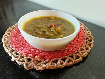 chukka koora pappu andhra recipe
