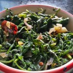 Kolmi Shak Bhaja | Bengali Kalmi Saag Fry | Water Spinach Stir Fry