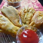 Kumro Phool Bhaja Bengali Pumpkin Blossom Fritters Crispy Deep Fried