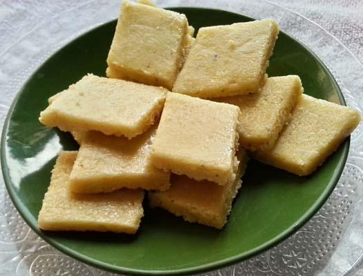 Kaju Barfi Recipe